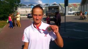 Z medalem Mistrzostw Polski ;)